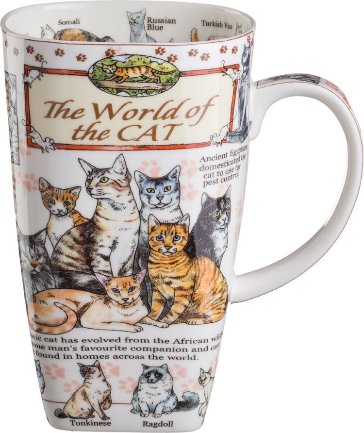 "Кружка 600 мл ""The World Of The Cat"" / 189117"