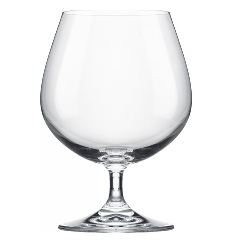 "Бокалы для бренди 400 мл 2 шт Tubus ""Golden set /Без декора"" / 088870"